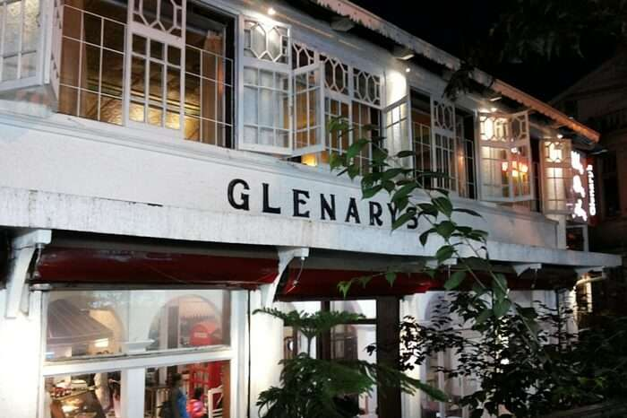 The glorious view of the Glenary's in Darjeeling
