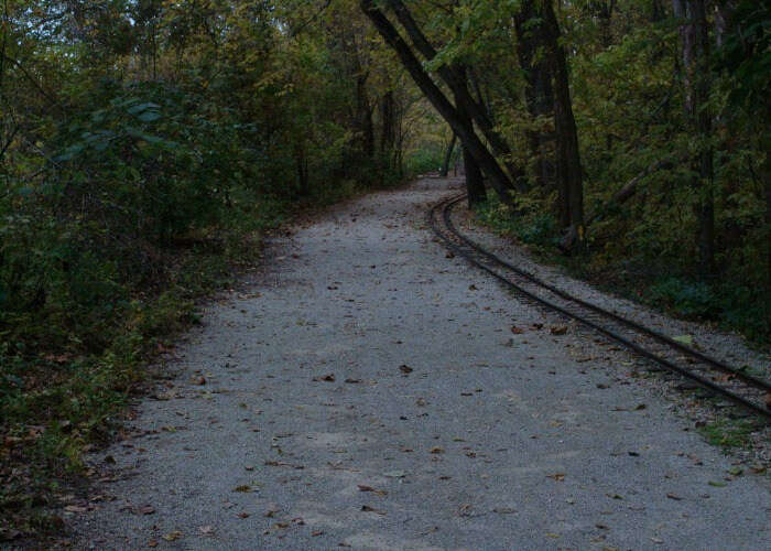 Haunted path in St. Louis