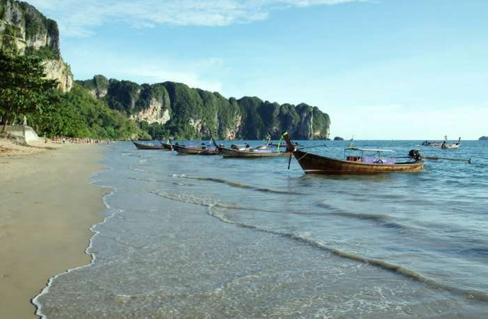 Ao nang beach view