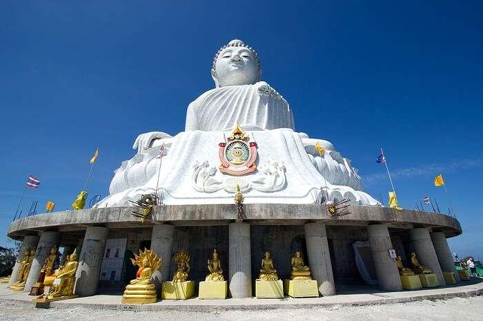Famous Big Buddha Statue in Phuket