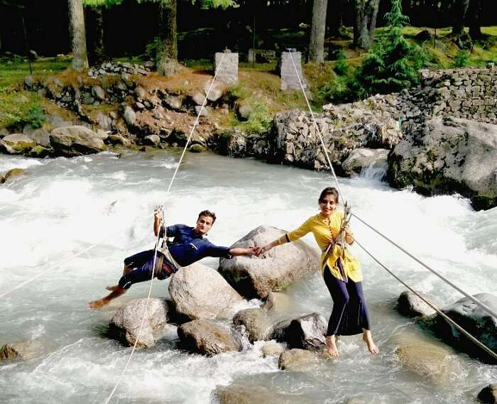 Sachins family indulge in water activities in Manali