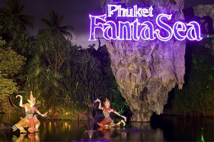 The FantaSea theme park in Phuket
