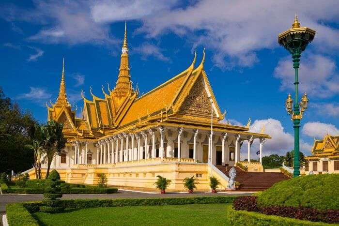 Check out the Royal Palace in Phnom Penh