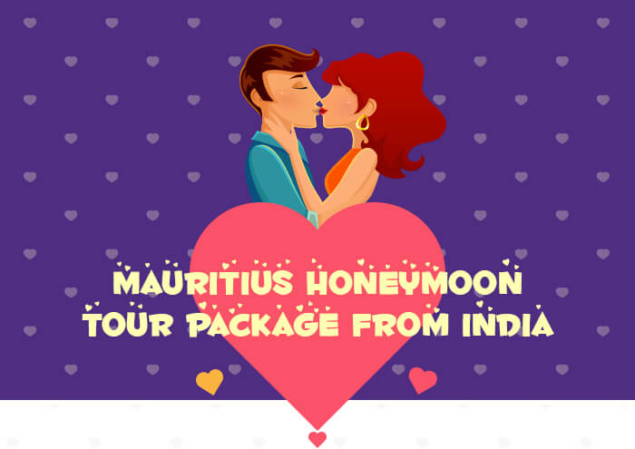 Mauritius honeymoon tour package from India