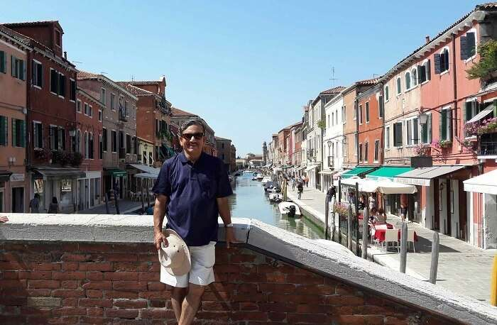 Mr. Abhishek in Venice