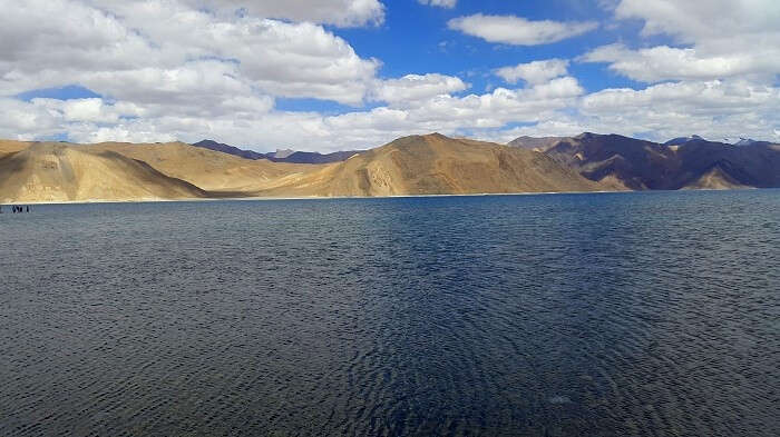 Berautiful Pangong Lake in Ladakh
