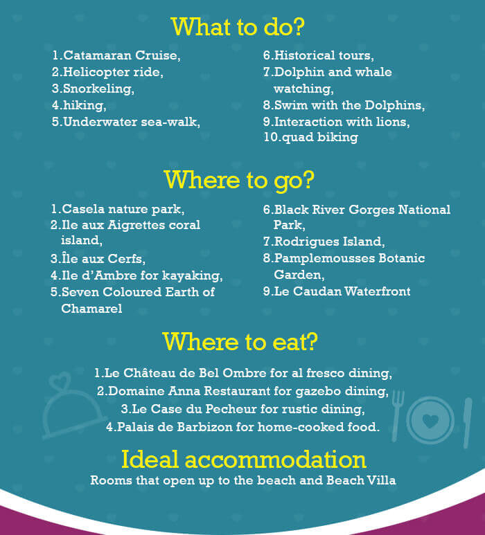 Information on what to do, where to go, hotels & more about Mauritius