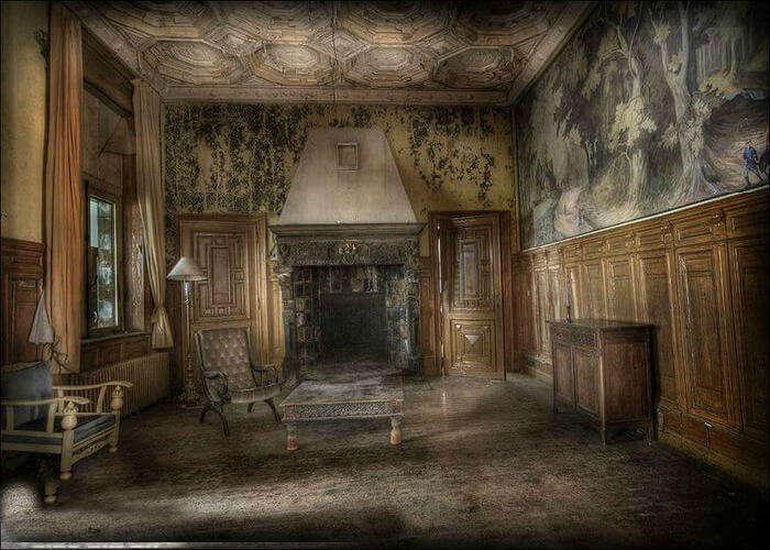 Rustic hotel interiors