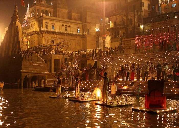 The peaceful vibe of Varanasi