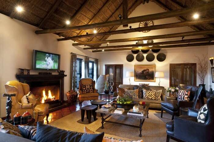 The spacious rooms of the Bushmans Kloof Wilderness Retreat and Wellness Reserve