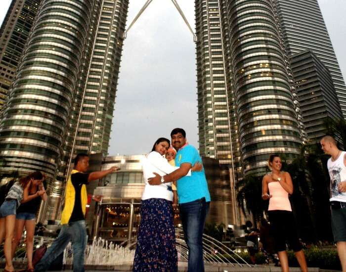 Enjoying the Kuala Lumpur city tour