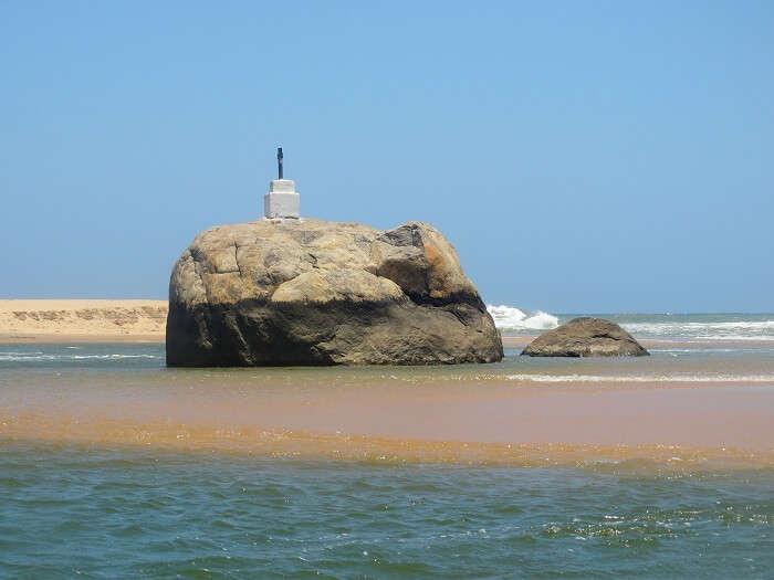 Beautiful Poovar beach in Kerala