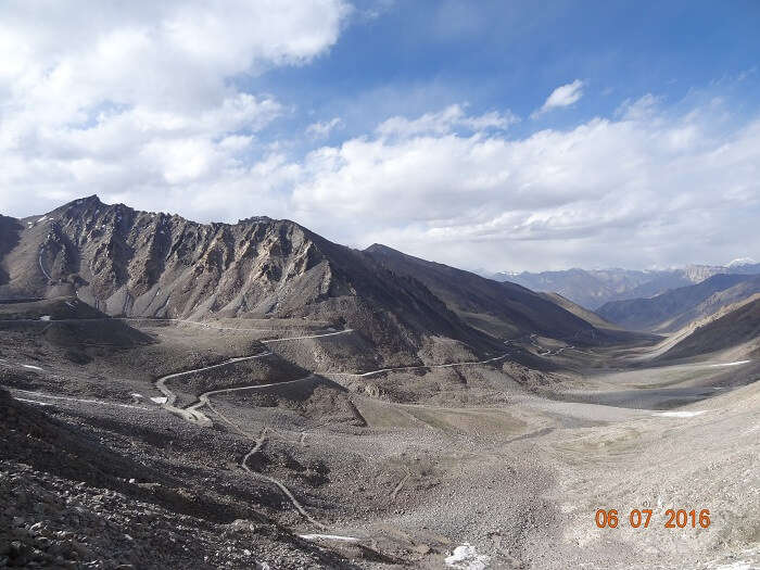 Breathing in the Stunning landscape in Leh