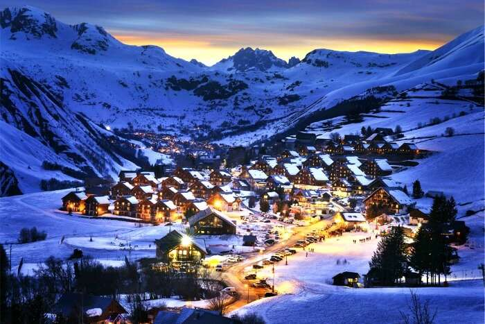Witness the beauty of France in winters
