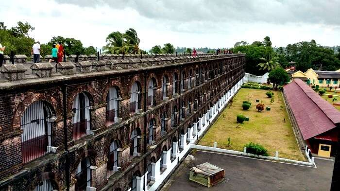 View from the Roof of the Cellular Jail