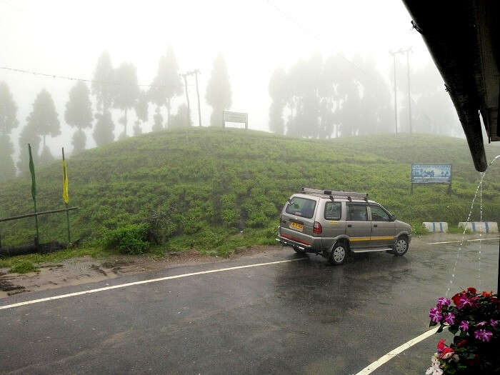 Gangtok Mist in the evening.