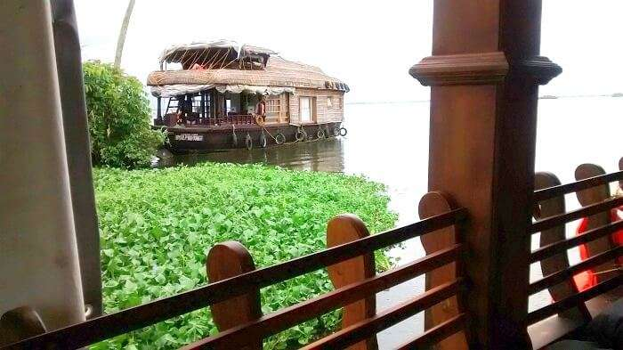 Enjoying the best ever house boat stay in Alleppey