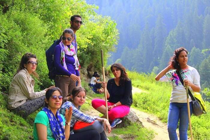 All girls trip to Kasol