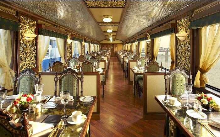 One of the luxury trains in India