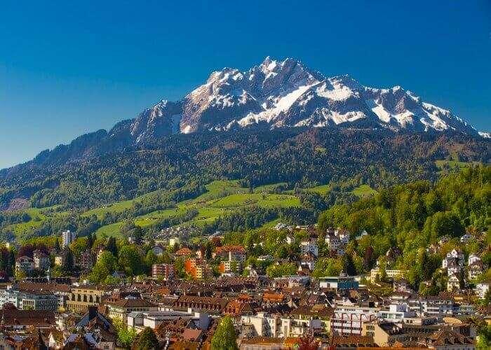 The enchanting landscape of Luzerne