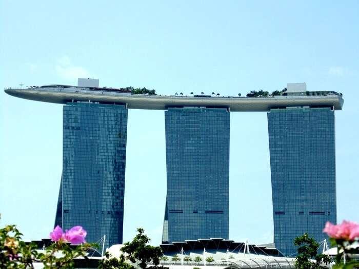Exploring the magnificent Marina Bay Sands
