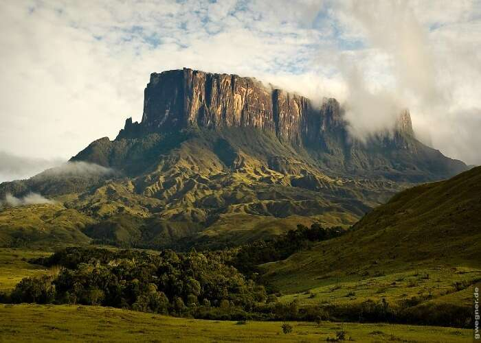 One of the mysterious mountains in Venezuela