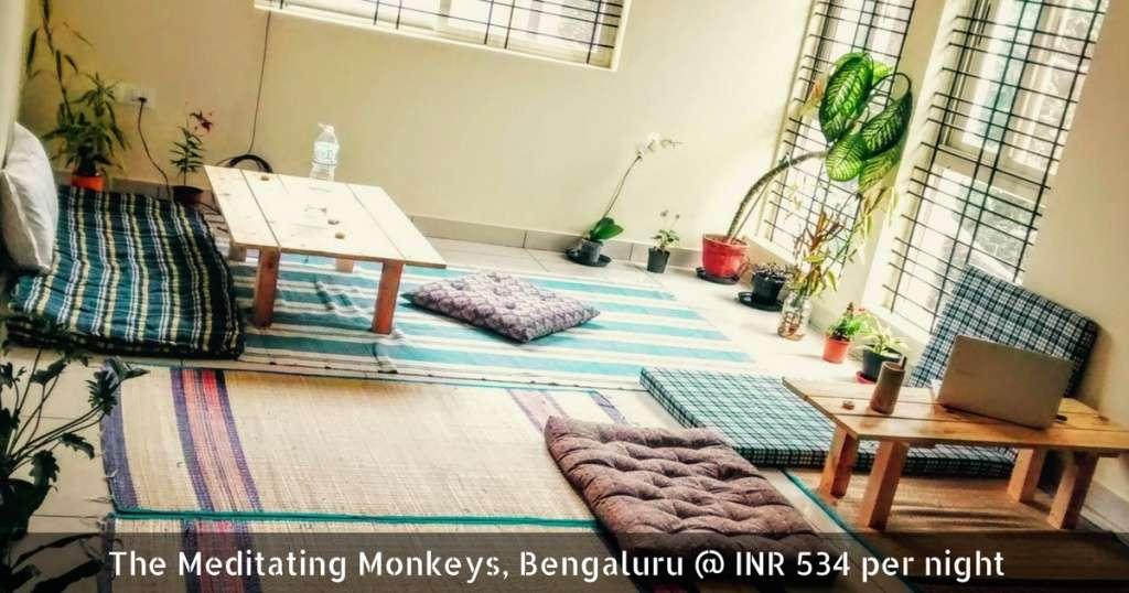 The Meditating Monkeys, Bengaluru