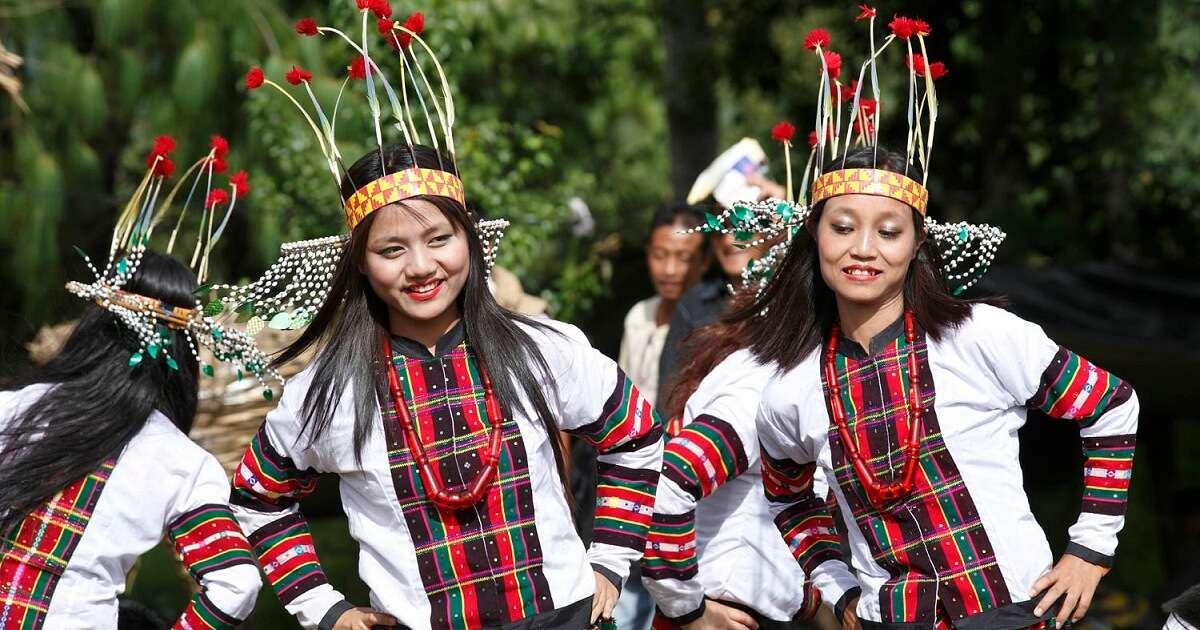 Tribal dances under an open sky at Ziro Festival