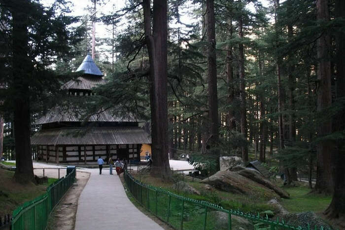 The Hadimba Devi Temple in Manali