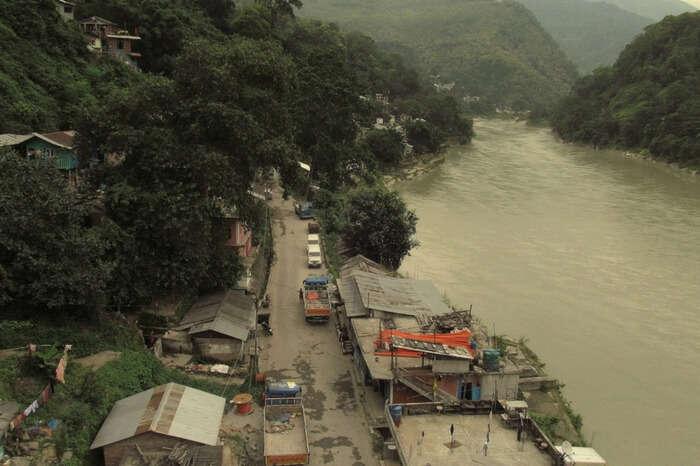 Teesta bazaar in Kalimpong