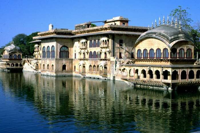 The famous Deeg Palace in Bharatpur