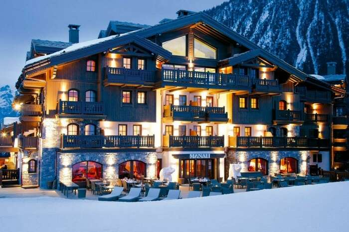 Luxurious hotels in Manali