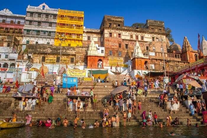 Budget stays in Varanasi in India