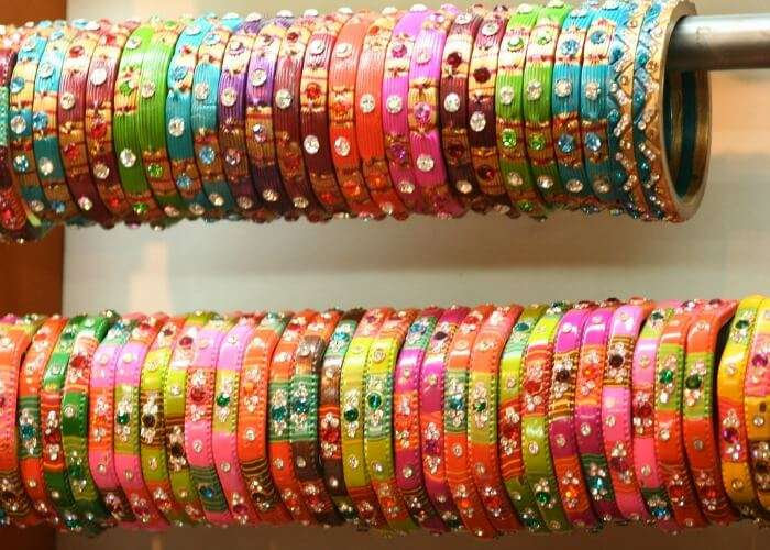 Have a look at mesmerizing shades of bangles
