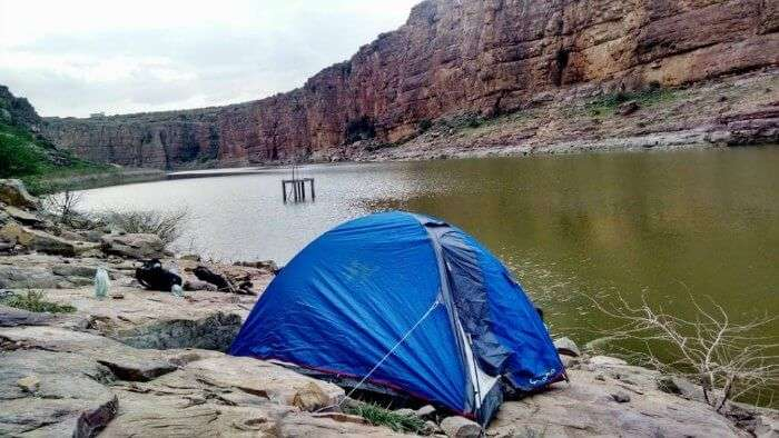 camping near the Pennar river in Gandikota is an awesome experience for travelers