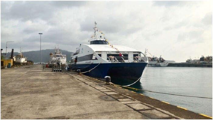 Ferry to Havelock island