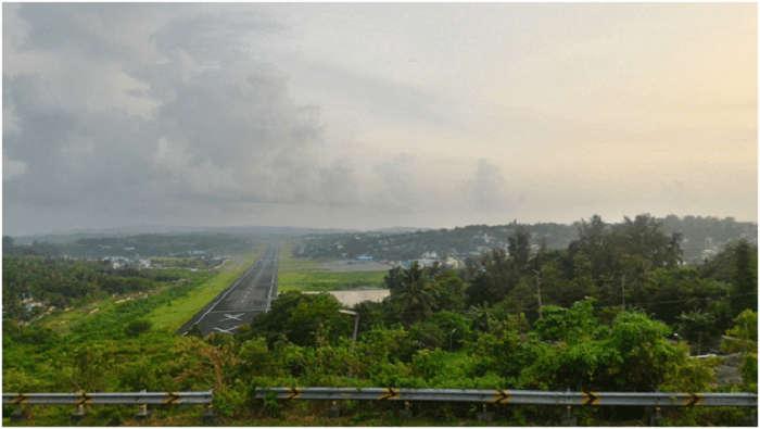 Airport in Andaman Island