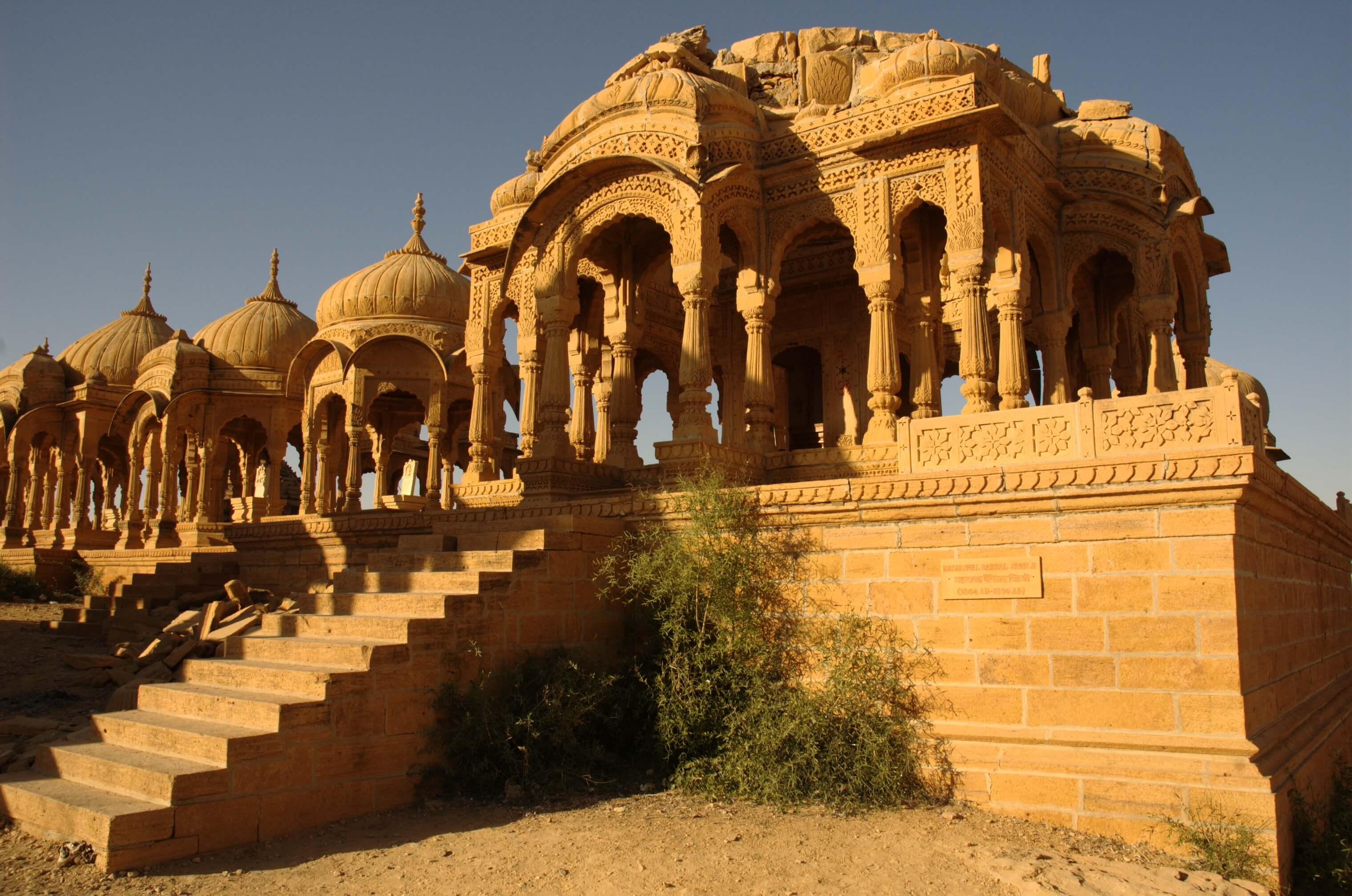 a beautiful fort in Jaisalmer