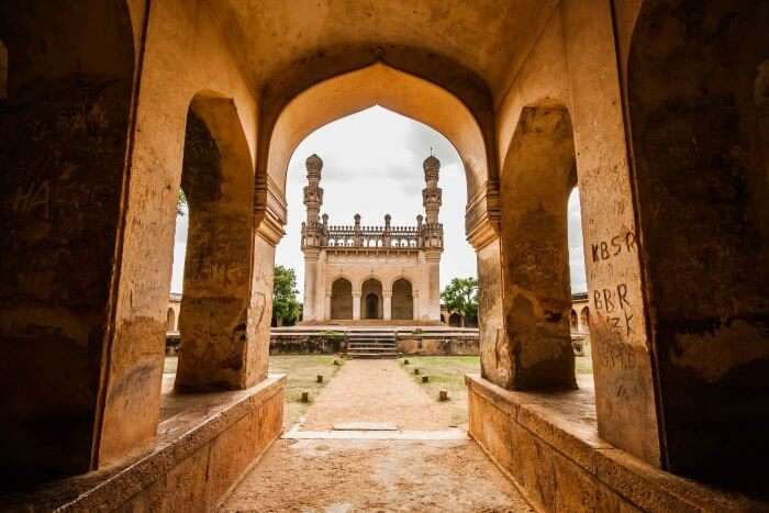 The stunning Jamia Masjid in Gandikota fort is a sight to behold!