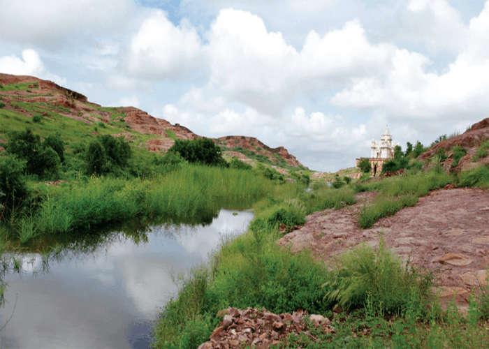 Feel the serenity at Rao Jodha Park