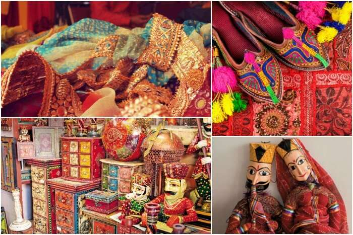 Shop till you drop in the bustling, colourful streets of Jaipur