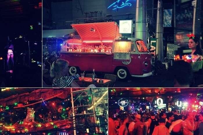 Scenes from the bustling Soi Bangla street in Phuket