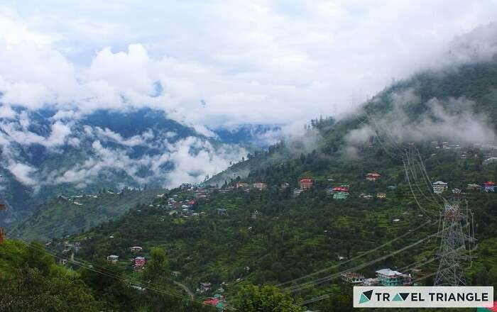 Beautiful hills of Himachal