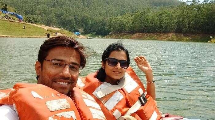 Boat ride in Kumarakom