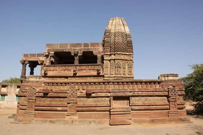One of the ancient temples in Osian region of Rajasthan