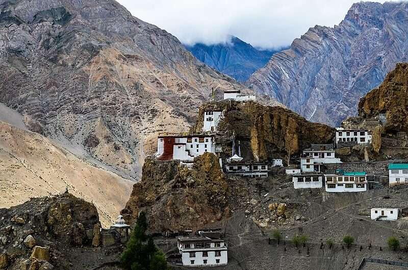 Dhankar Monastery in Spiti