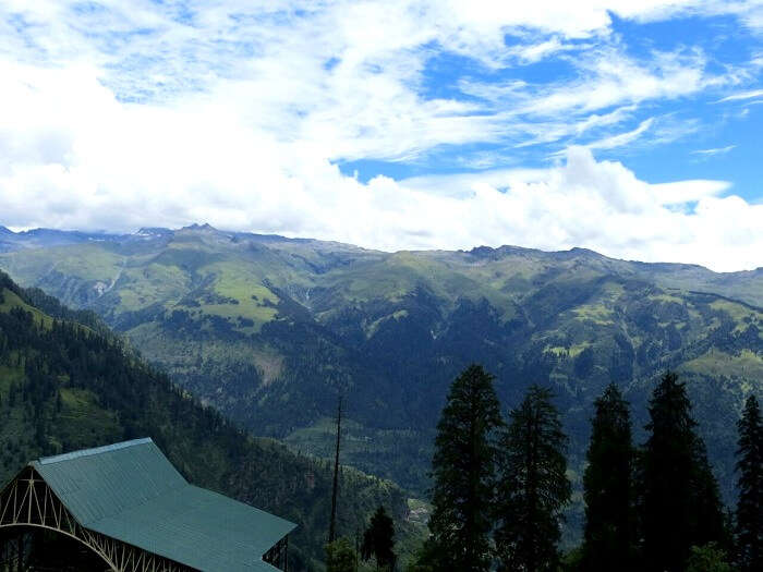 Breathtaking view of Kullu Valley