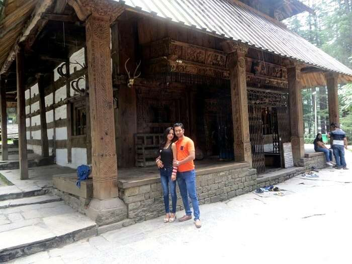 Ritesh and his wife exploring Manali