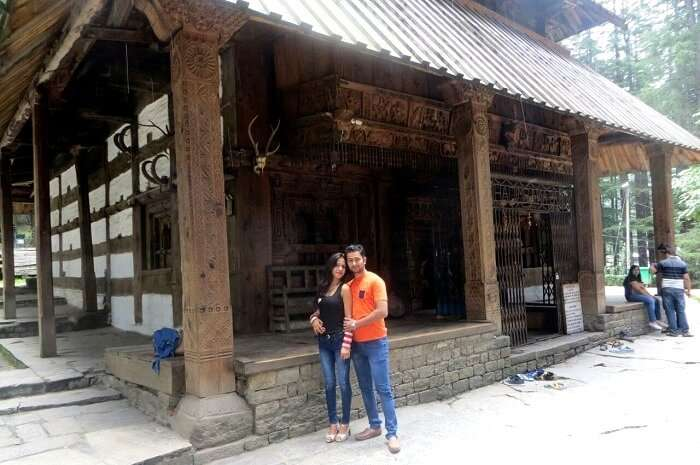 Traditional sightseeing in manali