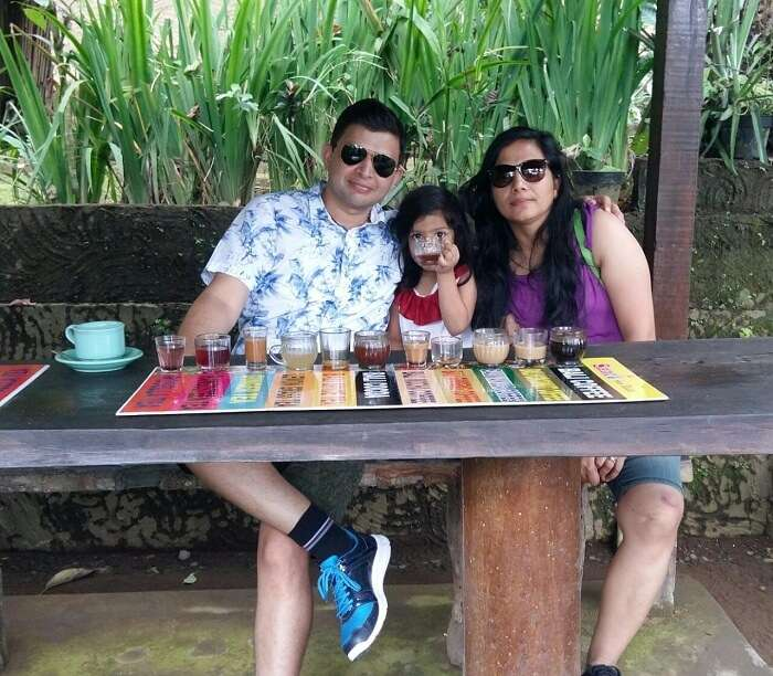 Visit to coffee plantation in Bali